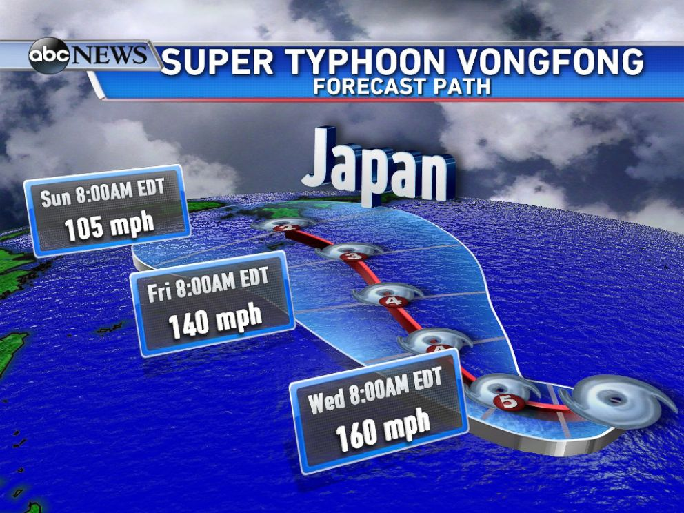 Super Typhoon To Strike The Pacific Coast Enlite News